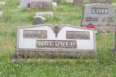 WAGONER, GEORGE A. - Stark County, Ohio | GEORGE A. WAGONER - Ohio Gravestone Photos