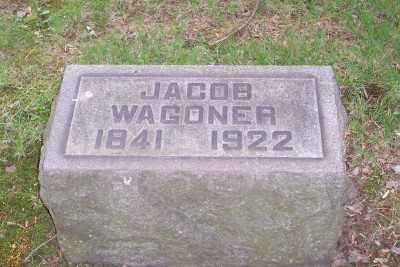 WAGONER, JACOB - Stark County, Ohio | JACOB WAGONER - Ohio Gravestone Photos