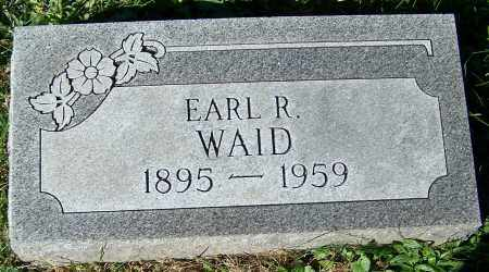 WAID, EARL R. - Stark County, Ohio | EARL R. WAID - Ohio Gravestone Photos