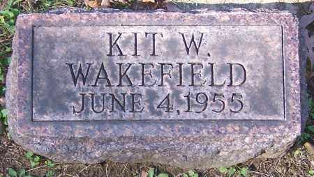 WAKEFIELD, KIT W. - Stark County, Ohio | KIT W. WAKEFIELD - Ohio Gravestone Photos