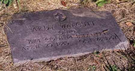 WALCUTT, ARDY    (MIL) - Stark County, Ohio | ARDY    (MIL) WALCUTT - Ohio Gravestone Photos