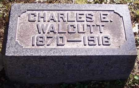 WALCUTT, CHARLES E. - Stark County, Ohio | CHARLES E. WALCUTT - Ohio Gravestone Photos