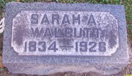 WALCUTT, SARAH A. - Stark County, Ohio | SARAH A. WALCUTT - Ohio Gravestone Photos