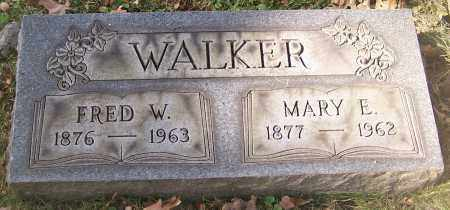 WALKER, FRED W. - Stark County, Ohio | FRED W. WALKER - Ohio Gravestone Photos
