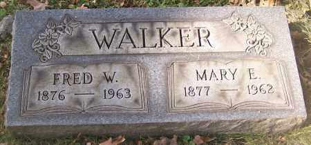 WALKER, MARY E. - Stark County, Ohio | MARY E. WALKER - Ohio Gravestone Photos