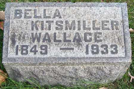 WALLACE, BELLA KITSMILLER - Stark County, Ohio | BELLA KITSMILLER WALLACE - Ohio Gravestone Photos