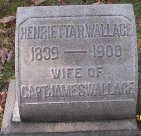 WALLACE, HENRIETTA R. - Stark County, Ohio | HENRIETTA R. WALLACE - Ohio Gravestone Photos