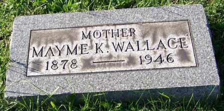 WALLACE, MAYME K. - Stark County, Ohio | MAYME K. WALLACE - Ohio Gravestone Photos