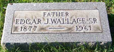 WALLACE SR., EDGAR J. - Stark County, Ohio | EDGAR J. WALLACE SR. - Ohio Gravestone Photos