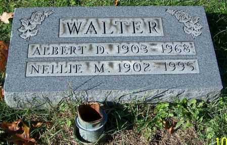 WALTER, ALBERT D. - Stark County, Ohio | ALBERT D. WALTER - Ohio Gravestone Photos