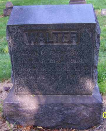 WALTER, FRANKLIN A. - Stark County, Ohio | FRANKLIN A. WALTER - Ohio Gravestone Photos