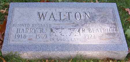 WALTON, R.BEATRICE - Stark County, Ohio | R.BEATRICE WALTON - Ohio Gravestone Photos