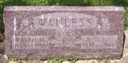 WANLESS, RALPH H. - Stark County, Ohio | RALPH H. WANLESS - Ohio Gravestone Photos
