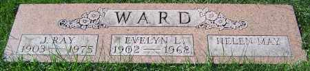 WARD, EVELYN L. - Stark County, Ohio | EVELYN L. WARD - Ohio Gravestone Photos