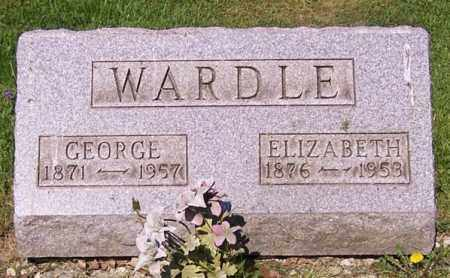 WARDLE, ELIZABETH - Stark County, Ohio | ELIZABETH WARDLE - Ohio Gravestone Photos