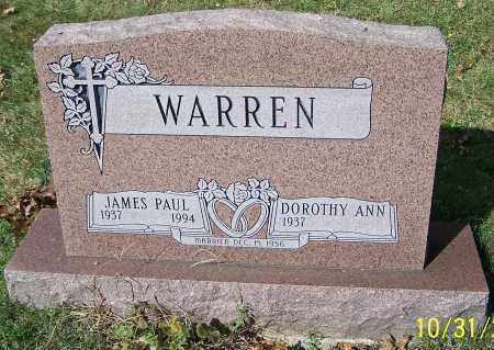 WARREN, DOROTHY ANN - Stark County, Ohio | DOROTHY ANN WARREN - Ohio Gravestone Photos