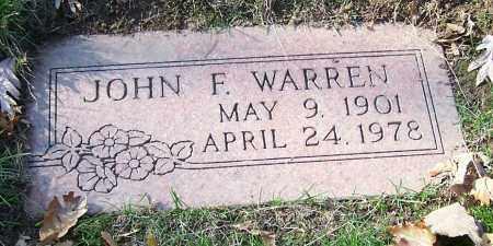 WARREN, JOHN F. - Stark County, Ohio | JOHN F. WARREN - Ohio Gravestone Photos