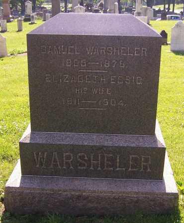 WARSHELER, ELIZABETH ESSIG - Stark County, Ohio | ELIZABETH ESSIG WARSHELER - Ohio Gravestone Photos