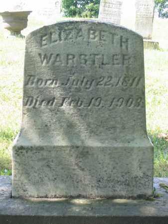 WARSTLER, ELIZABETH - Stark County, Ohio | ELIZABETH WARSTLER - Ohio Gravestone Photos
