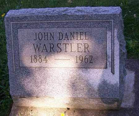 WARSTLER, JOHN DANIEL - Stark County, Ohio | JOHN DANIEL WARSTLER - Ohio Gravestone Photos