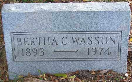 WASSON, BERTHA C. - Stark County, Ohio | BERTHA C. WASSON - Ohio Gravestone Photos