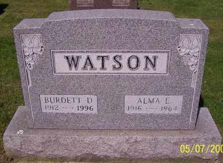 WATSON, ALMA E. - Stark County, Ohio | ALMA E. WATSON - Ohio Gravestone Photos