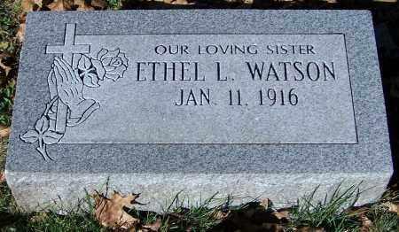 WATSON, ETHEL L. - Stark County, Ohio | ETHEL L. WATSON - Ohio Gravestone Photos