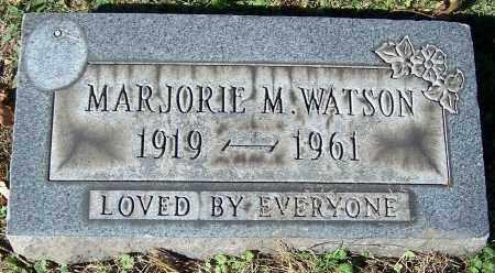 WATSON, MARJORIE M. - Stark County, Ohio | MARJORIE M. WATSON - Ohio Gravestone Photos