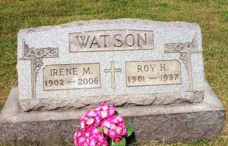 WATSON, ROY H. - Stark County, Ohio | ROY H. WATSON - Ohio Gravestone Photos