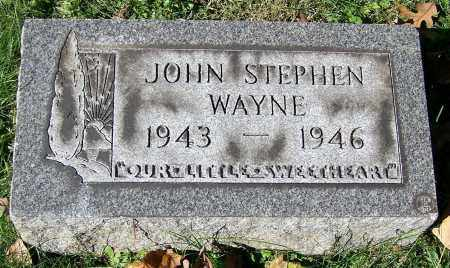 WAYNE, JOHN STEPHEN - Stark County, Ohio | JOHN STEPHEN WAYNE - Ohio Gravestone Photos