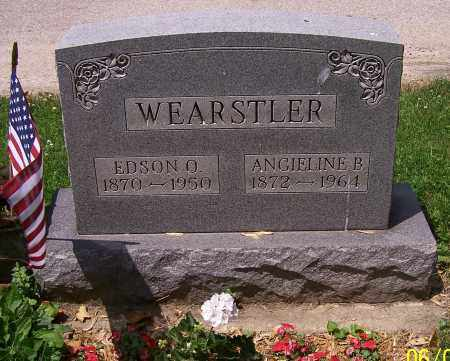 WEARSTLER, EDSON O. - Stark County, Ohio | EDSON O. WEARSTLER - Ohio Gravestone Photos