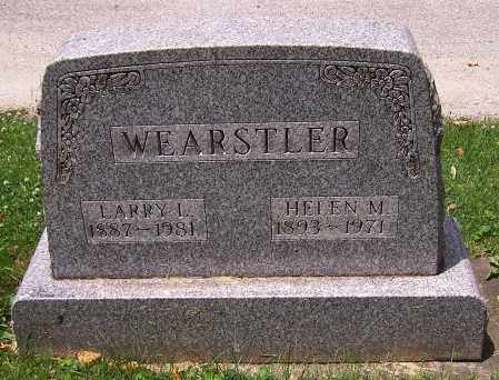 WEARSTLER, HELEN M. - Stark County, Ohio | HELEN M. WEARSTLER - Ohio Gravestone Photos