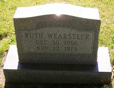 WEARSTLER, RUTH - Stark County, Ohio | RUTH WEARSTLER - Ohio Gravestone Photos