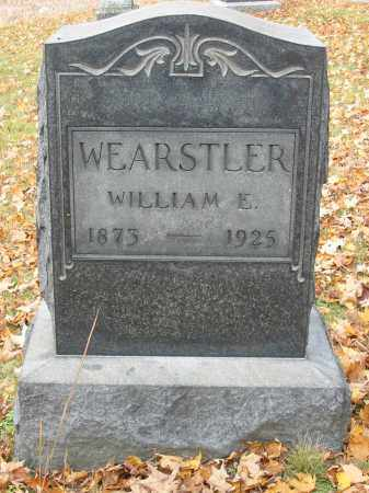 WEARSTLER, WILLIAM E - Stark County, Ohio | WILLIAM E WEARSTLER - Ohio Gravestone Photos