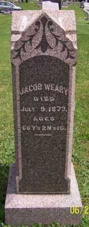 WEARY, JACOB - Stark County, Ohio | JACOB WEARY - Ohio Gravestone Photos