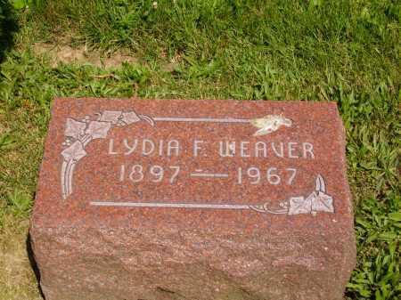 WEAVER, LYDIA F. - Stark County, Ohio | LYDIA F. WEAVER - Ohio Gravestone Photos