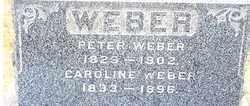 MYERS WEBER, CAROLINE - Stark County, Ohio | CAROLINE MYERS WEBER - Ohio Gravestone Photos