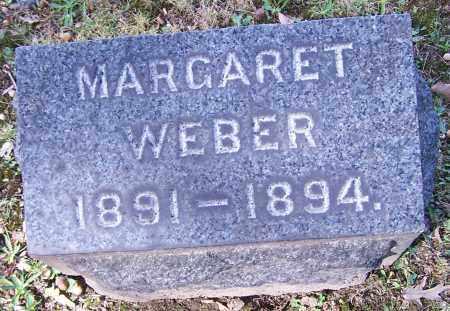 WEBER, MARGARET - Stark County, Ohio | MARGARET WEBER - Ohio Gravestone Photos