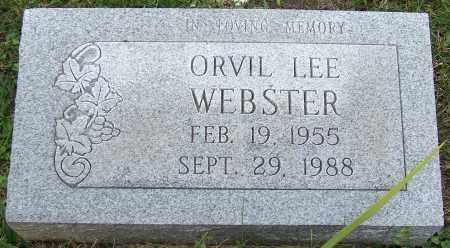 WEBSTER, ORVIL LEE - Stark County, Ohio | ORVIL LEE WEBSTER - Ohio Gravestone Photos