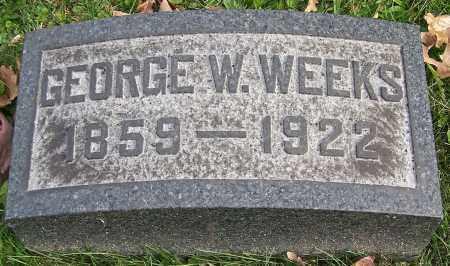 WEEKS, GEORGE W. - Stark County, Ohio | GEORGE W. WEEKS - Ohio Gravestone Photos