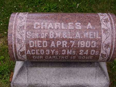 WEIL, CHARLES A. - Stark County, Ohio | CHARLES A. WEIL - Ohio Gravestone Photos