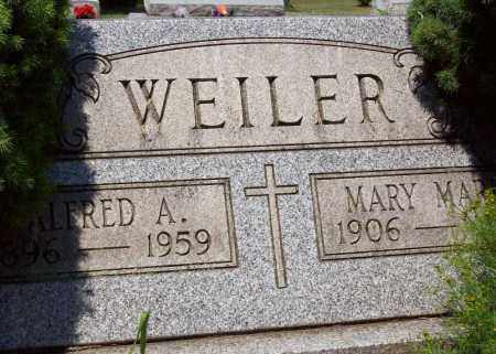 WEILER, MARY MARIE - Stark County, Ohio | MARY MARIE WEILER - Ohio Gravestone Photos