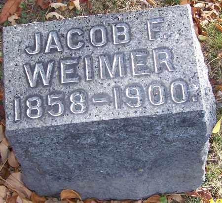 WEIMER, JACOB F. - Stark County, Ohio | JACOB F. WEIMER - Ohio Gravestone Photos