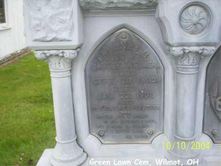 WEIMER, ORLANDO - Stark County, Ohio | ORLANDO WEIMER - Ohio Gravestone Photos
