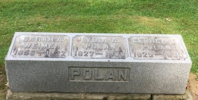 POLAN, GEORGE M. - Stark County, Ohio | GEORGE M. POLAN - Ohio Gravestone Photos