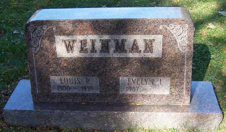 WEINMAN, LOUIS P. - Stark County, Ohio | LOUIS P. WEINMAN - Ohio Gravestone Photos
