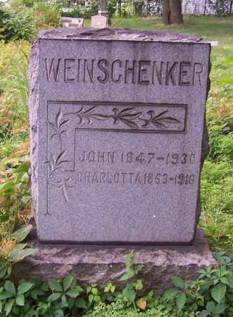 WEINSCHENKER, JOHN - Stark County, Ohio | JOHN WEINSCHENKER - Ohio Gravestone Photos