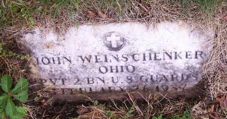WEINSCHENKER, JOHN    (MIL) - Stark County, Ohio | JOHN    (MIL) WEINSCHENKER - Ohio Gravestone Photos