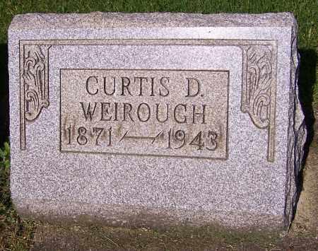 WEIROUGH, CURTIS D. - Stark County, Ohio | CURTIS D. WEIROUGH - Ohio Gravestone Photos