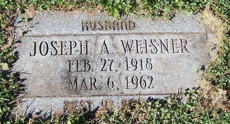 WEISNER, JOSEPH A. - Stark County, Ohio   JOSEPH A. WEISNER - Ohio Gravestone Photos
